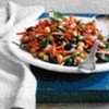 Chickpea, Carrot and Olive Salad with Cumin Vinaigrette