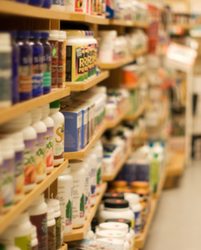 nutritional supplements store